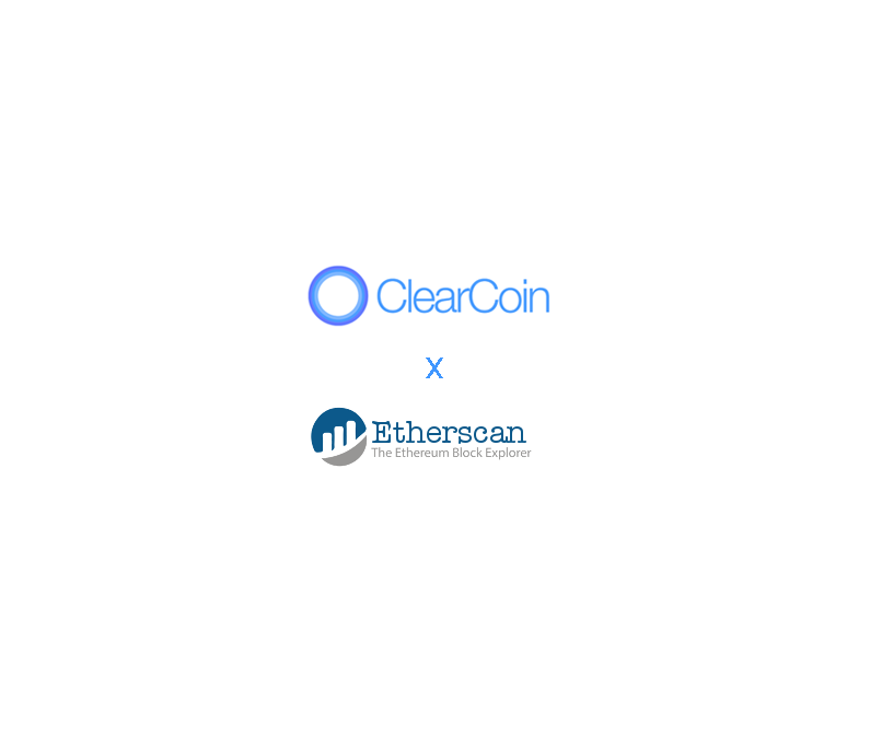 The ClearCoin (XCLR) Token Contract on Etherscan