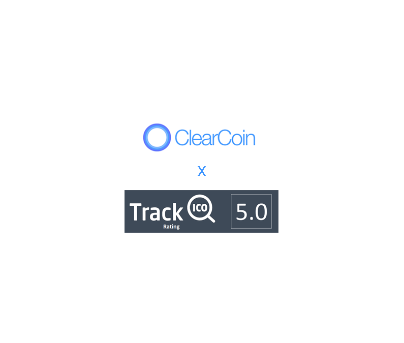 ClearCoin on TrackICO with a 5-Star Rating