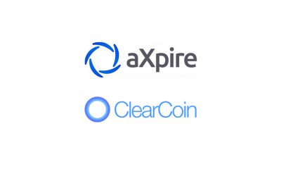 ClearCoin & aXpire Launch Crypto Acceptance Gateway